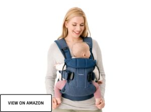 baby in toddler baby carrier