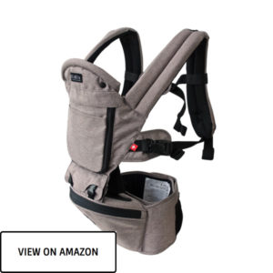 baby carrier in grey color for toddler